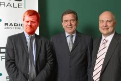 Gerhard Schroeder, Thomas Koschwitz und Lupus