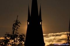 """Davor hat Paul Angst, er sagt """"Nachts wird der Turm zu einer bösen Fledermaus"""" .. tz tz"""